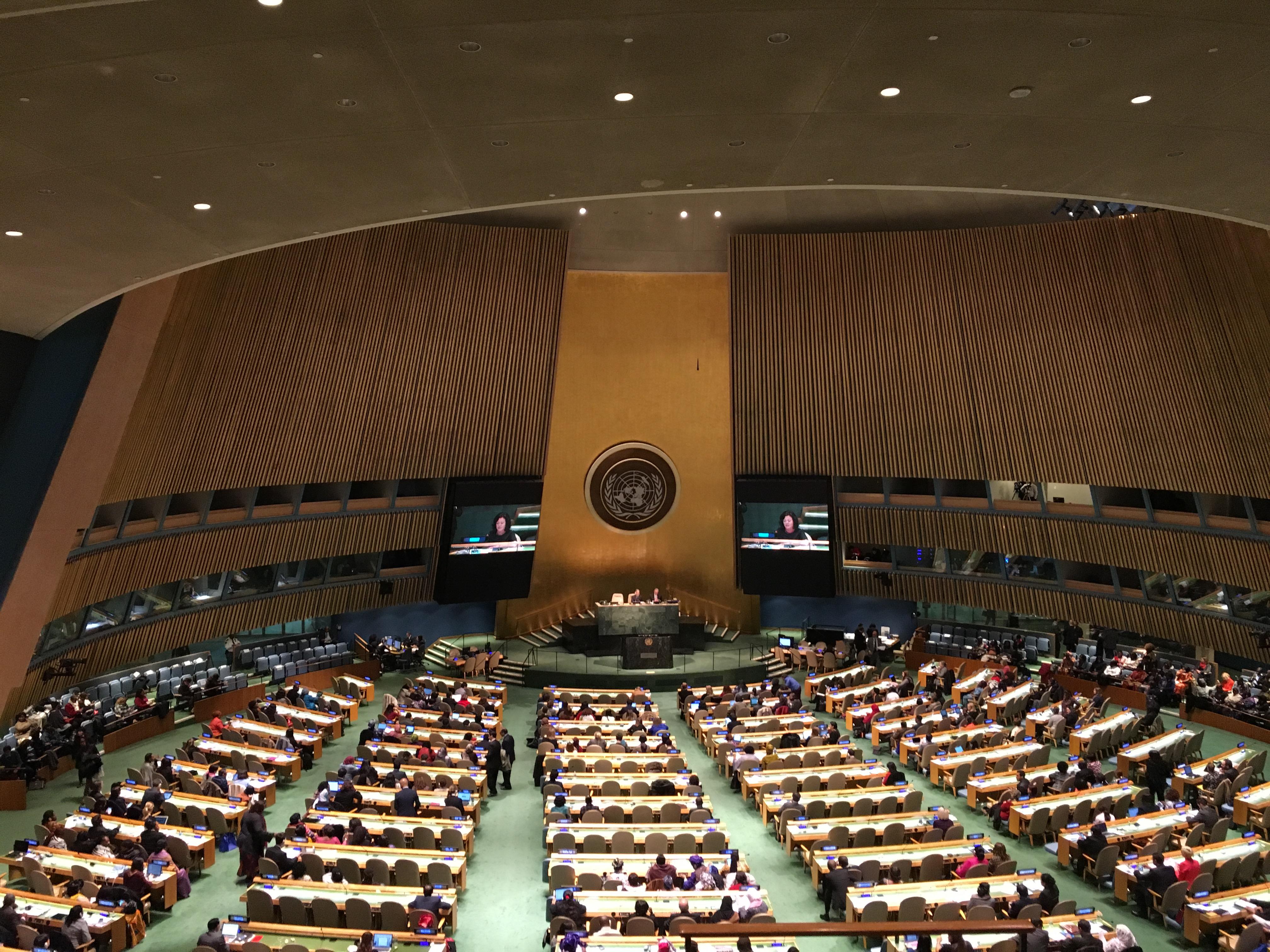 FN diskuterer finansiering av styrkingen av kvinners politiske og økonomiske deltakelse